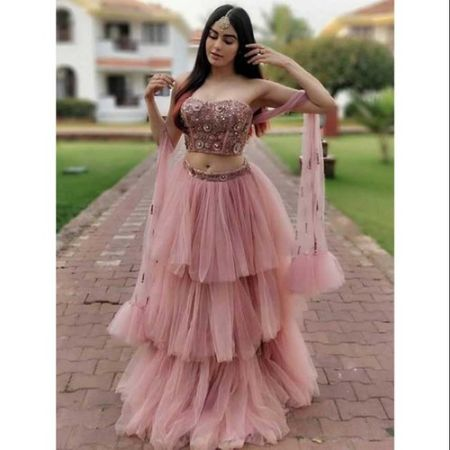 Picture for category net lehenga