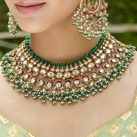 Picture for category kundan sets